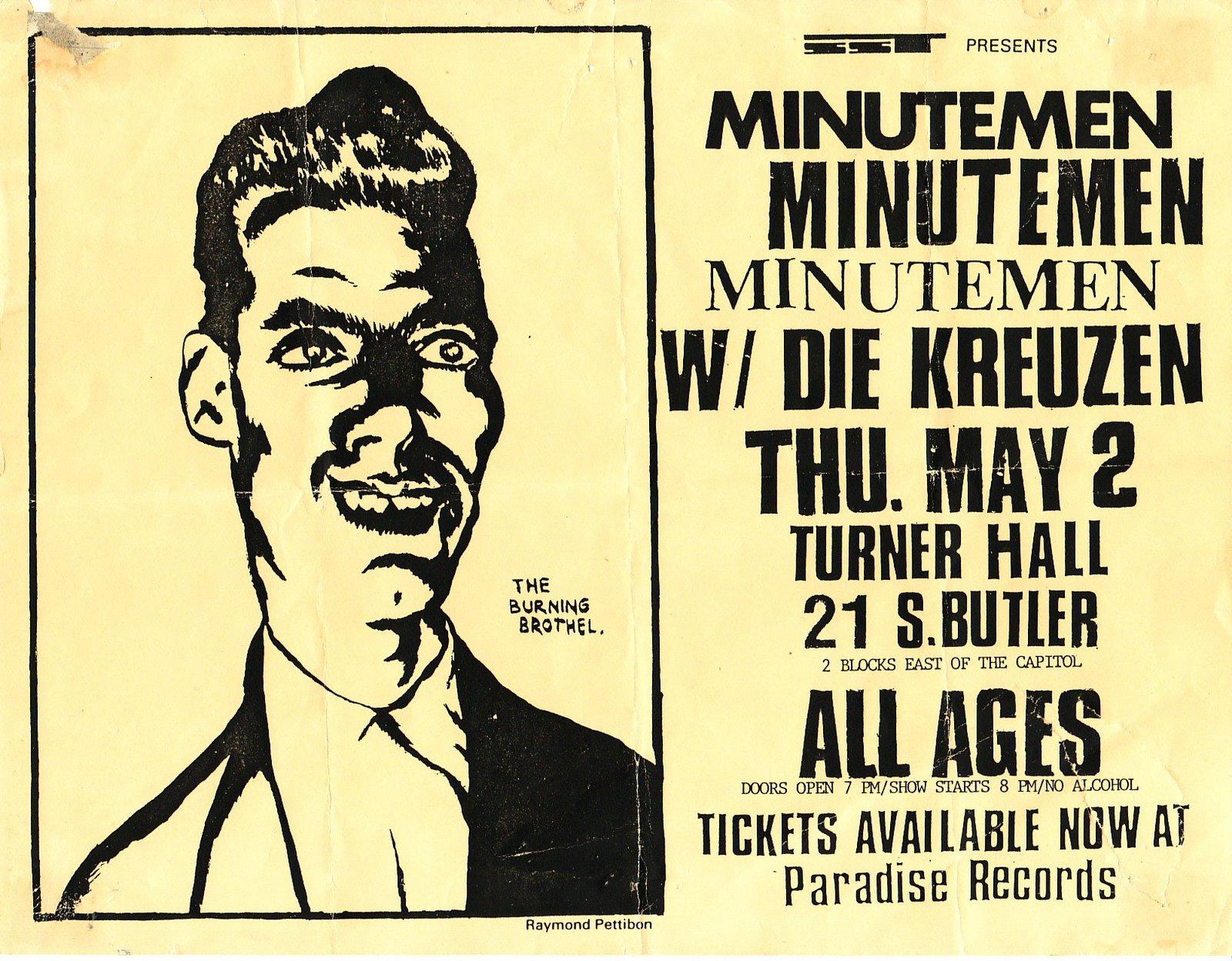 1985-05-02 Turner Hall, Milwaukee, WI